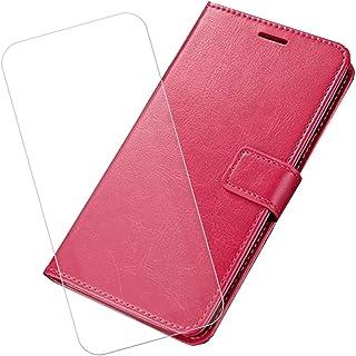 YZKJ Cover för AGM X2 (5,5 tum) fodral pansarglas skyddsfolie flip PU läderfodral mobiltelefonfodral plånbok fodral med ko...