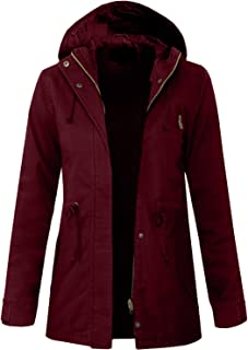 J. LOVNY Women's Versatile Military Anorak Jacket in Various Styles S-3XL