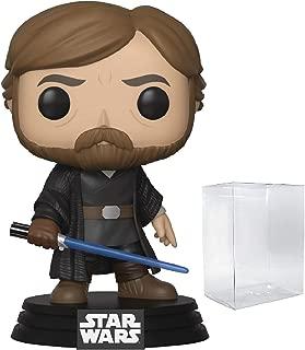 Star Wars: The Last Jedi - Final Battle Luke Skywalker Funko Pop! Vinyl Figure (Includes Compatible Pop Box Protector Case)