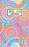 2020-2021 Pocket Planner: Pretty Two-Year Monthly Pocket Planner and Organizer | 2 Year (24 Months) Agenda with Phone Book, Password Log & Notebook | Cute Mandala & Geometric Print