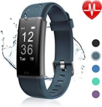 Letsfit Fitness Tracker, Activity Tracker Watch with HR Monitor, Fitness Tracker Sleep Monitor Pedometer Watch Step Counte...