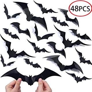 Best bats halloween wall decals Reviews