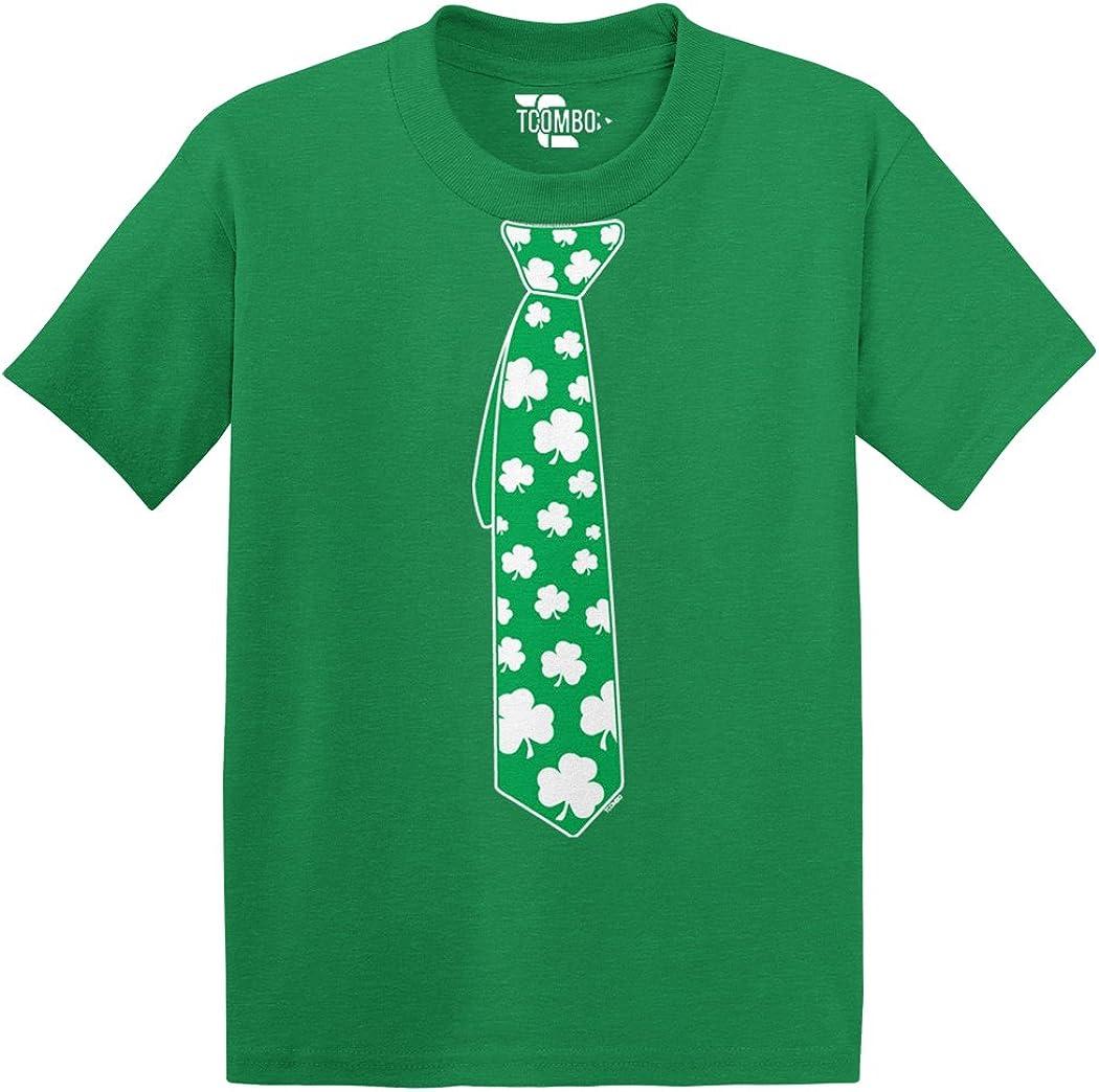 Tie of Shamrock, Clover - St Patricks Day Gift Toddler/Infant T-Shirt