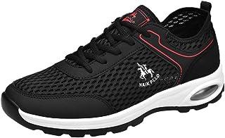 Riou Sportive All'aperto Sneakers Uomo Traspiranti Mesh Caldo Invernali Piatto Scarpe da Escursionismo Scarpe Stringate Basse