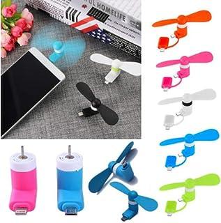 LFCELLZZ Ventiladores De Teléfonos Móviles Ventiladores De Refrigeración De Mini Radiadores Transporte Ligero para Teléfonos Inteligentes Ventiladores Ventiladores De Cámara Azul