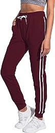 Pantalon de jogging à 2 bandes pour femme avec cor