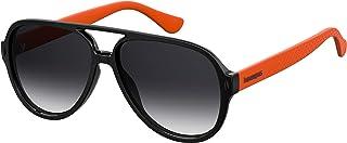 نظارات شمسية ليبلون من هافاياناز للجنسين، متعدد الالوان (بلون اسود وبرتقالي)، 59