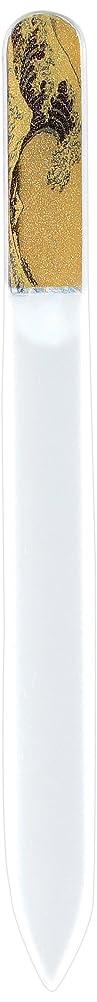 急性代替アコード橋本漆芸 ブラジェク製高級爪ヤスリ 特殊プリント加工 波裏 OPP