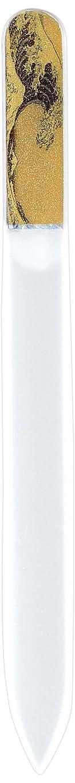 グラスむしゃむしゃ多数の橋本漆芸 ブラジェク製高級爪ヤスリ 特殊プリント加工 波裏 OPP