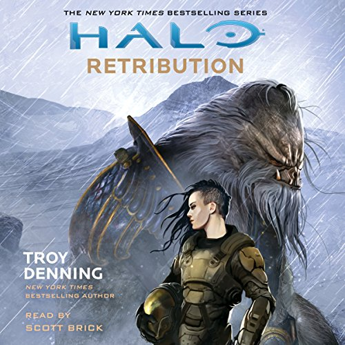 HALO: Retribution audiobook cover art