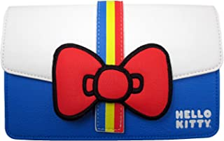 x Hello Kitty 45th Anniversary Striped Waist Bag (One Size, Multicolored)