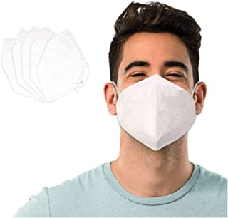 5 Layer Protection Breathable Face Mask (5 pcs) – Filtration>95% with Comfortable Elastic Ear Loop | Non-Woven Polypropylene Fabric