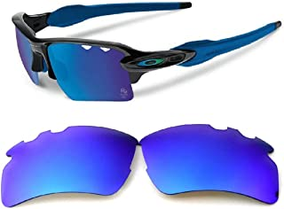 Galaxy Replacement lenses For Oakley Flak 2.0 XL VENTED Sunglasses Polarized Blue