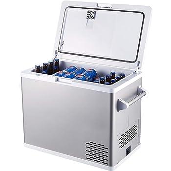 Aspenora 54-Quart Portable Fridge Freezer 12V Car Refrigerator Car Fridge with Compressor Touch Screen for Vehicle Truck RV Camping Travel Outdoor Driving, -4℉ ~ 68℉, 12/24V