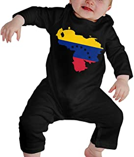 Mri-le1 Newborn Kids Coverall USA Flag French Bulldog Kid Pajamas