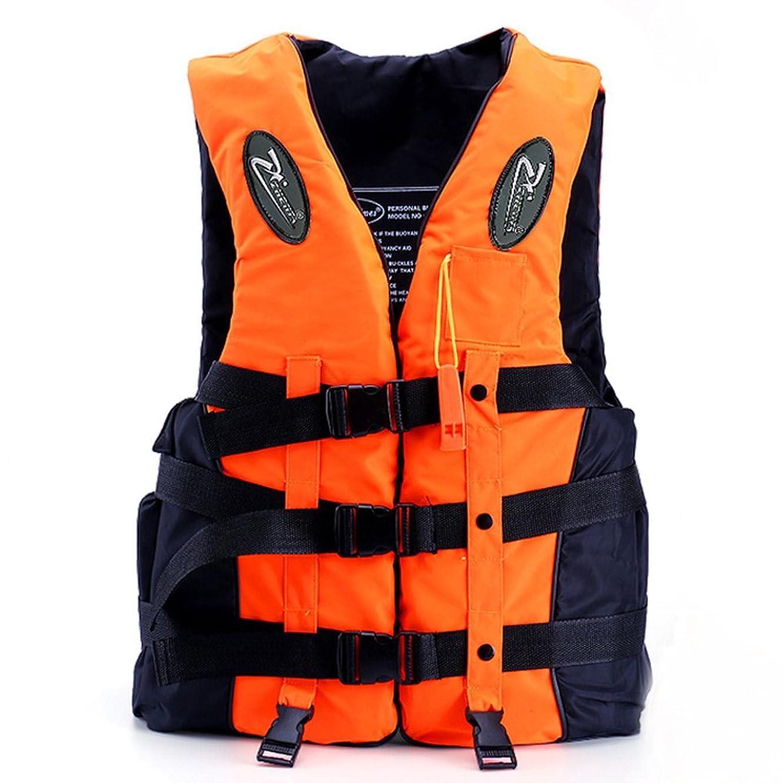 保守的闘争驚きライフジャケット フローティングベスト 救命胴衣 呼び子付き ホイッスル 反射帯付き 強い浮力 高い負荷力 安全安心 マリンスポーツ 2色/5サイズ 子供用 大人用 男女兼用