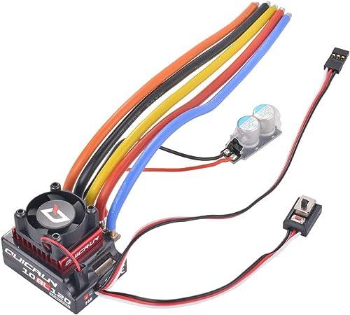 Kreema QUICRUN 10BL 120A 1 10 Brushless Motor 4 pÃle Wasserdicht ESC Drehzahlregler Sensorless Regler für RC Auto