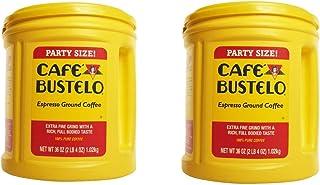 Café Bustelo Coffee, Espresso Ground Coffee, 36 Ounces (36 Ounces pack of 2)