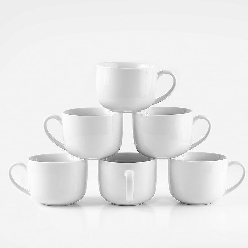 Amuse Professional Barista Jumbo Mug Set Of 6 16 Oz
