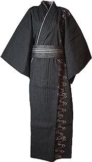 japanese cotton kimono dressing gown