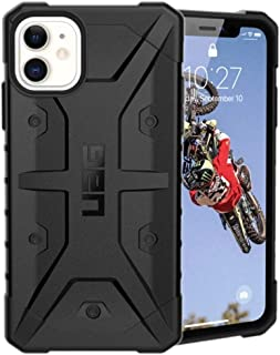 Urban Armor Gear UAG iPhone 11 Case, Pathfinder Feather-Light Rugged Protection Case/Cover Designed for iPhone 11 (6.1 inch) (Military Drop Tested) - Black