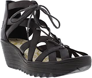 29b167312 Fly London Womens Colmar Black Yeli719fly Sandals