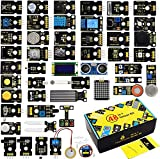 KEYESTUDIO - Kit de iniciación de programas, 48 en 1, para Arduino Raspberry Pi Learning Project STEM Education, componentes electrónicos Set para niños adolescentes adultos + tutorial