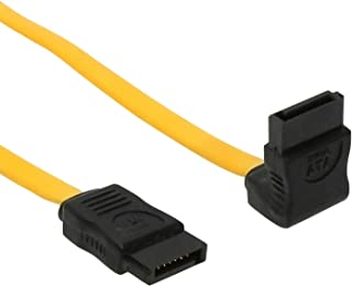 SATACables 13 Inch SATA III 3Gb/s Low Profile Cable Non-Latching Right to Straight UltraFlex