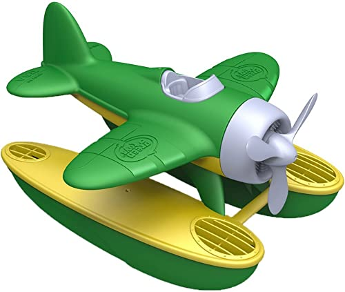 Green Toys Seaplane in Green Color - BPA Free, Phthalate Free Floatplane for Improving Pincers Grip. Toys and Games ,...