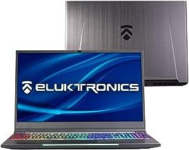 "Eluktronics MECH-15 G2R Slim & Light NVIDIA GeForce RTX 2070 Gaming Laptop with Mechanical RGB Keyboard - Intel i7-8750H CPU 8GB GDDR6 VR Ready GPU 15.6"" 144Hz Full HD IPS 256GB PCIe SSD + 12GB RAM"