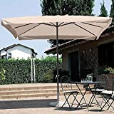 Zoom IMG-1 bakaji ombrellone da giardino 3x3