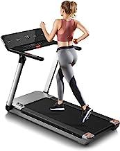 RHYTHM FUN Treadmill Folding Treadmill Desk Treadmill 4.0HP Electric Motorized Treadmill Super Shock-Absorbing Slim Quiet ...