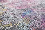 Luxor Living Teppich Unique, Vintage Kelim Patchwork Teppich im Used-Look, Farbe:Multicolor, Größe:160 x 230 cm - 3