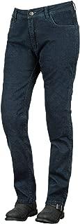 Speed and Strength Women's True Romance Stretch Moto Jean Pants, Indigo Blue, Size, 4R