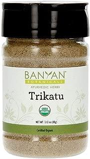 Banyan Botanicals Trikatu Powder - USDA Organic, Spice Jar - Heating & Stimulating - Supports Digestion of Heavy Foods*