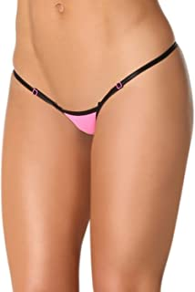 Women's Micro Thong String Breakaway Adjustable Very Low Rise