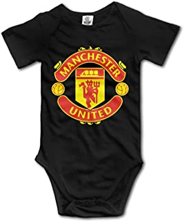 Manchester United Soccer Cotton Bodysuit Romper Onesie Jumpsuit Baby Clothes