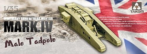 TAKOM TAK2015 WWI Battle Tank Mark IV Male