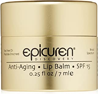 (Pot 5ml) - EPICUREN LIP BALM SPF 15 TEA TREE OIL