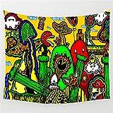 Tapices Seta Abstracta Tapiz Lindo Colgante De Pared Fantasía Arte De La Pared Alfombras Decoración De Dormitorio Tapiz De Pared Dormitorio Sala De Estar 200X150Cm