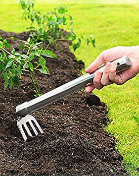 XMRISE Hoe Pointed Hoes Picks Hoe-Pick Hoe-Rake Archaeological Fertilization Garden Cultivating Weeding Gardening Tools Farming Agricultural Digging Aerated Soil,Hoe