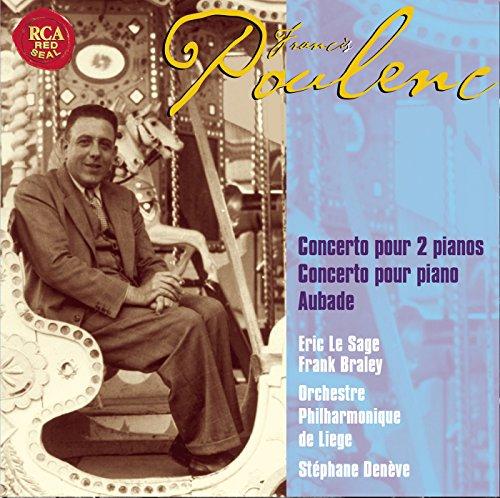 Poulenc: Two Pianos And Piano Concertos, Aubade