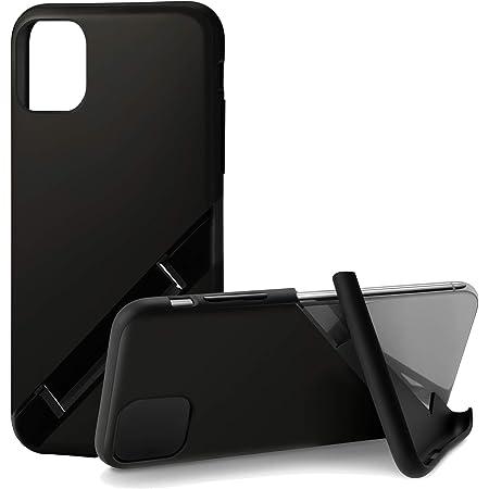 カンピーノ campino iPhone 11 ケース OLE stand スタンド機能 耐衝撃 スリム 動画 Qi ワイヤレス充電対応 マット ブラック 黒 Matte