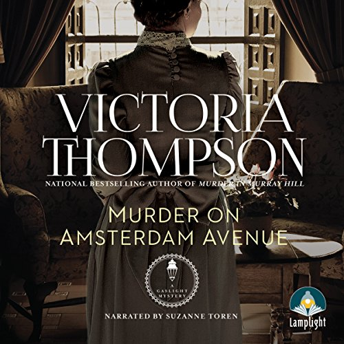 Murder on Amsterdam Avenue audiobook cover art