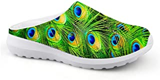 Sandalias con diseño de Plumas de Pavo Real, Unisex, para Adultos