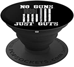 American Flag Thin Gray Line Corrections Officer Gift - PopSockets Grip and Stand for Phones and Tablets