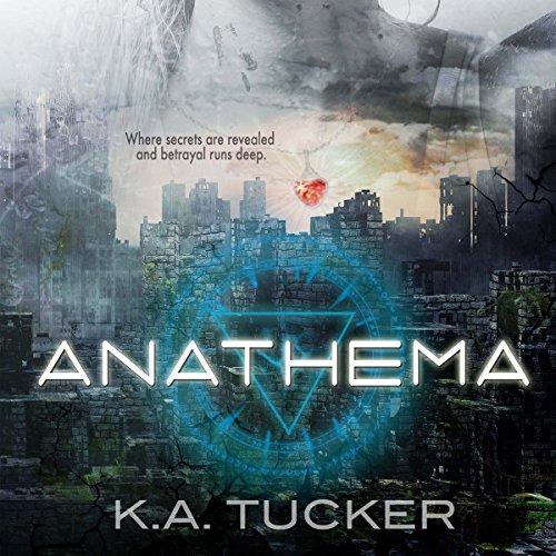 Anathema audiobook cover art
