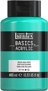 Liquitex BASICS Acrylic Paint, 13.5-oz bottle, Bright Aqua Green