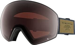 VonZipper Jetpack Goggles - Men's S.I.N. Charcoal Satin, One Size