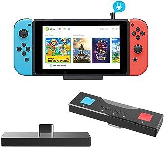 Adaptador de transmisor de audio Bluetooth 5.0 con conector USB C y USB A para Nintendo Switch & Lite TV Dock PS4 Slim Design Mic incluido Dual APTX de baja latencia para todos los altavoces Bluetooth